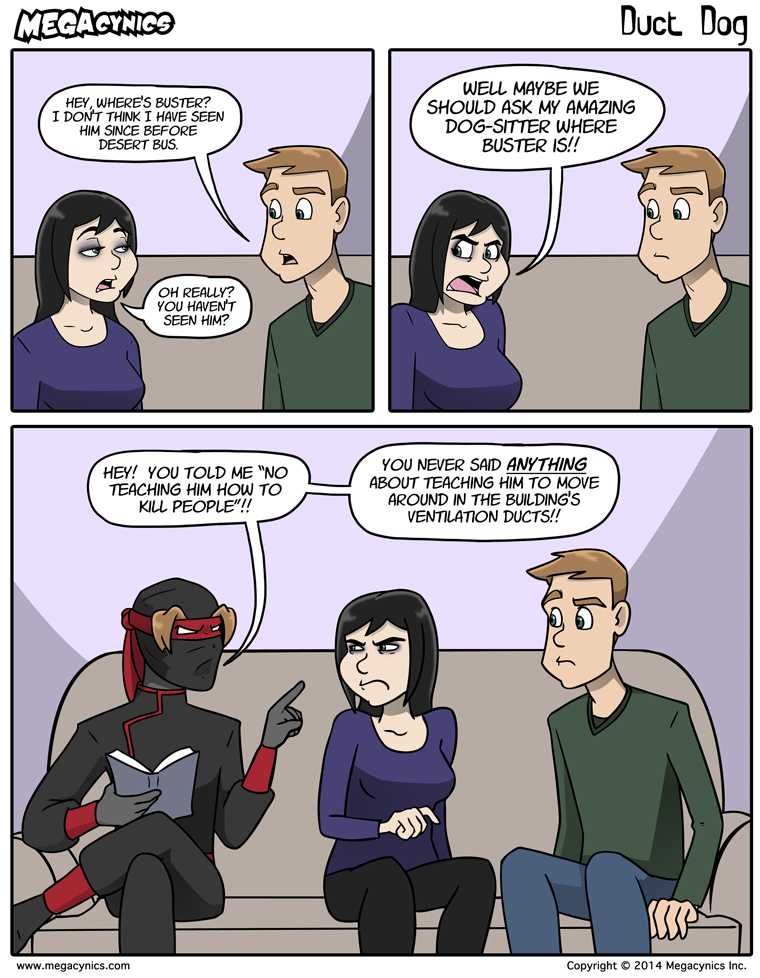 MegaCynics: Duct Dog (Dec 8, 2014)