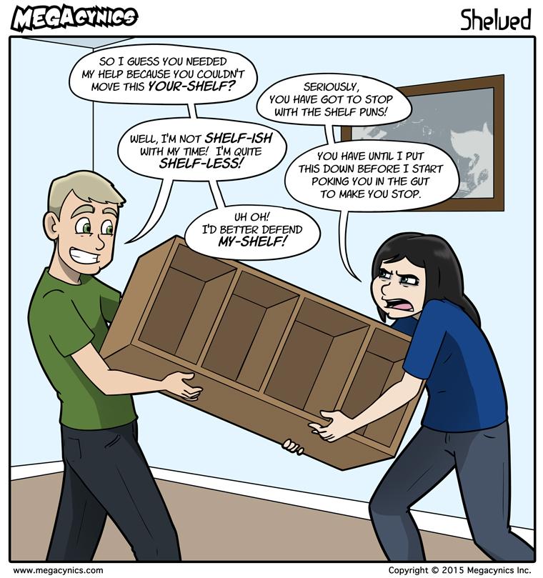 MegaCynics: Shelved (Jul 20, 2015)