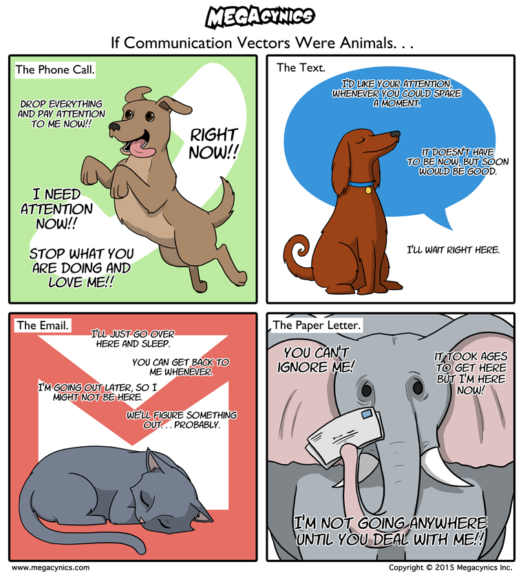 MegaCynics: Communication Animals (Sep 16, 2015)