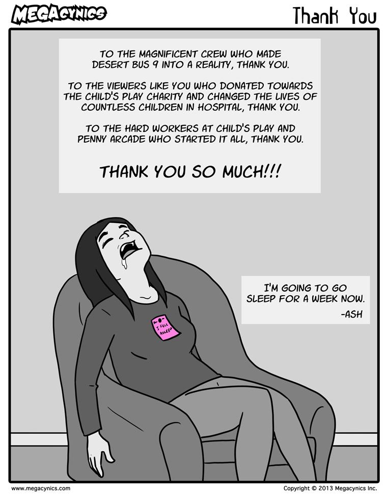 MegaCynics: Thank You (Nov 23, 2015)