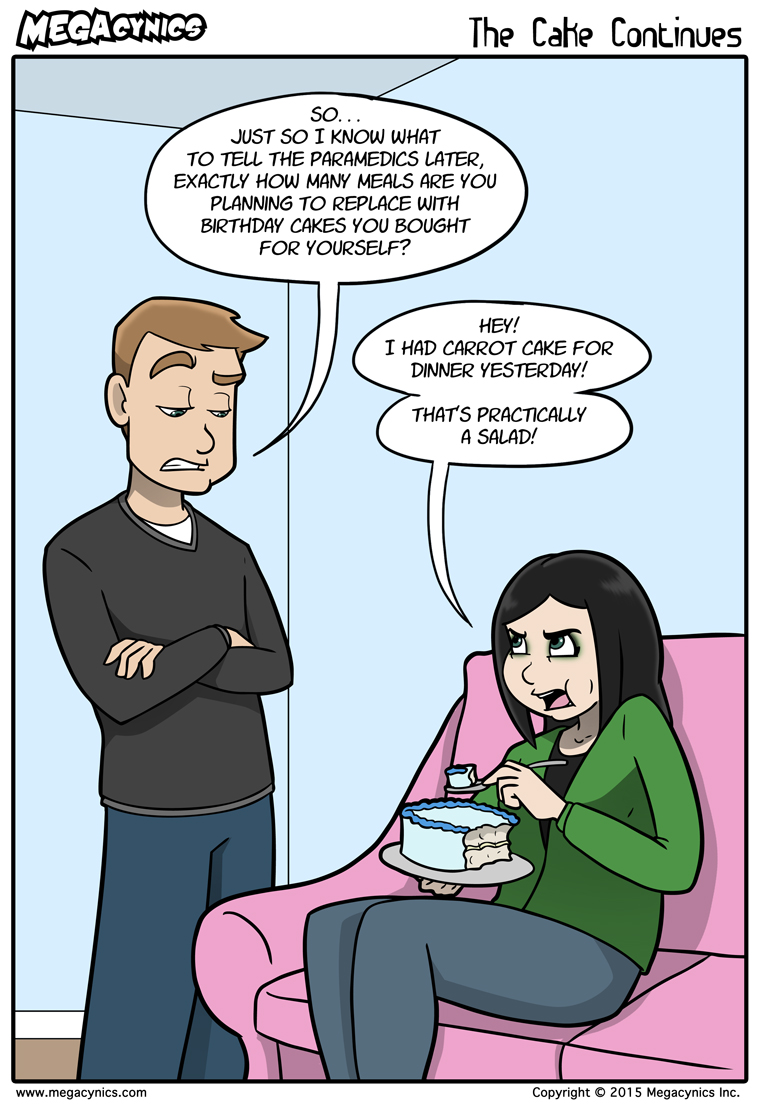 MegaCynics: The Cake Continues (Dec 4, 2015)