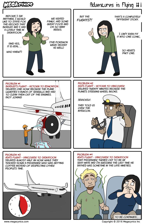 MegaCynics: Adventures in Flying #1 (Aug 24, 2016)