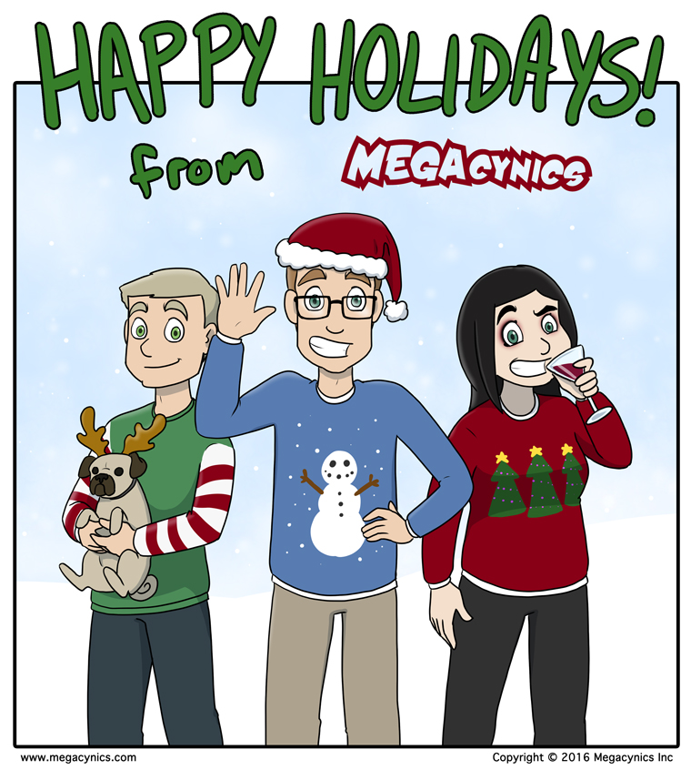 MegaCynics: Happy Holidays 2016 (Dec 23, 2016)