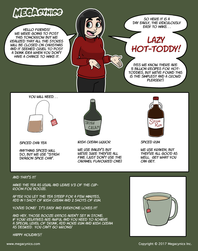 MegaCynics: Lazy Hot-Toddy (Dec 24, 2017)